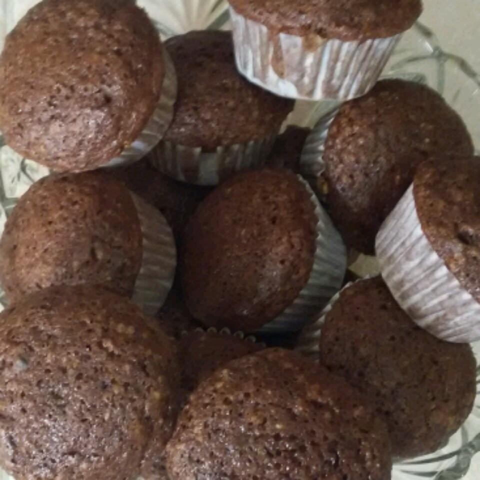 Eggless Peanut Butter Chocolate Muffins Nataly Lozano