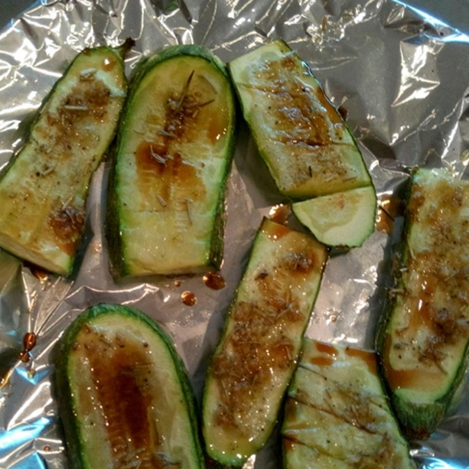 Grilled Zucchini buttertash