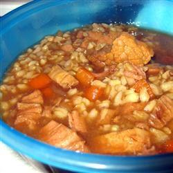 Beef and Barley Soup II Manda