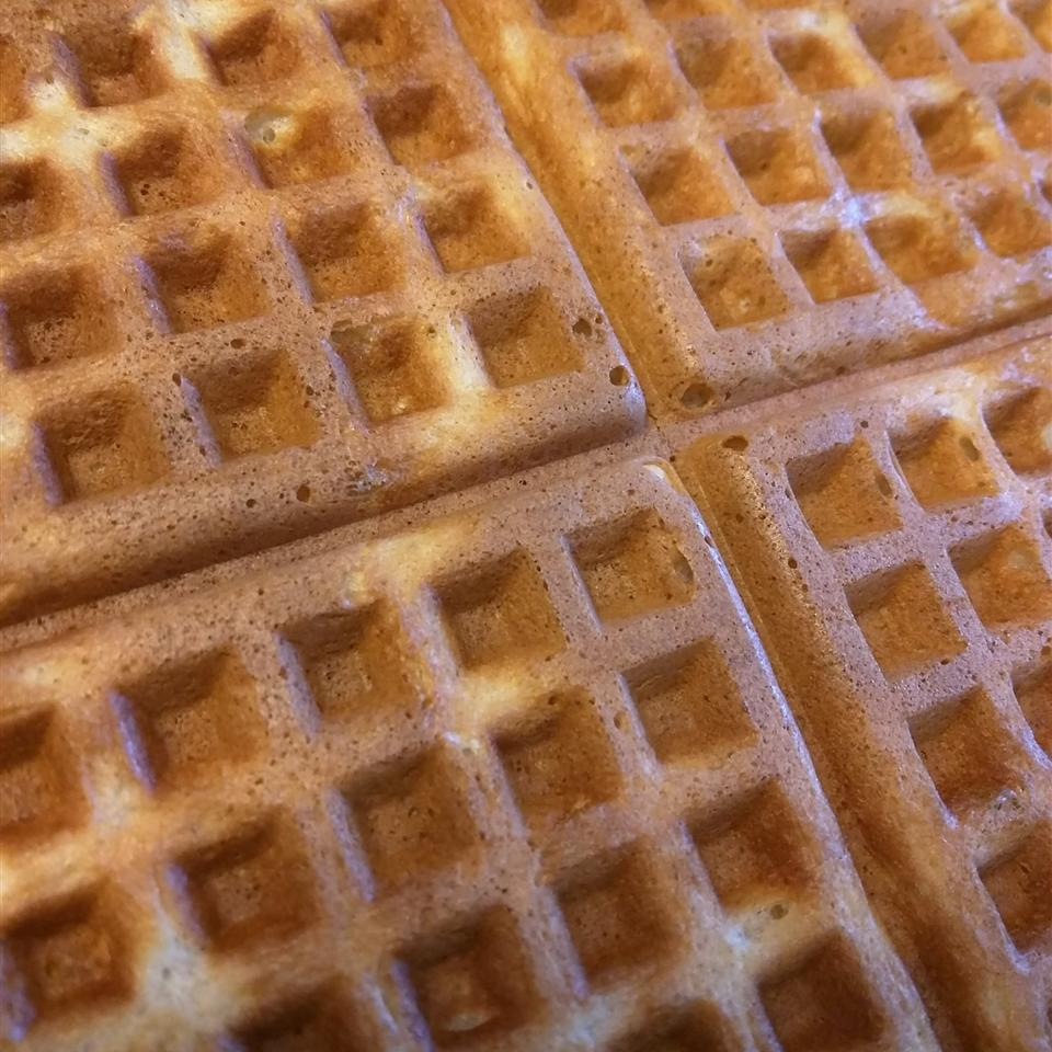 Tender and Easy Buttermilk Waffles Kat R