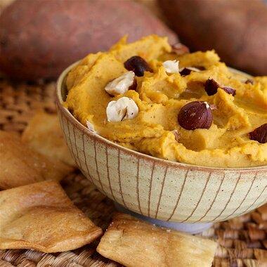 sweet potato hummus with tahini recipe