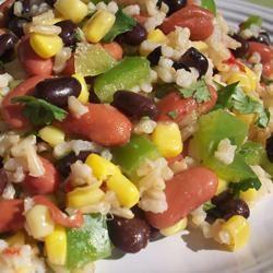 Mexican Bean and Rice Salad CookinBug