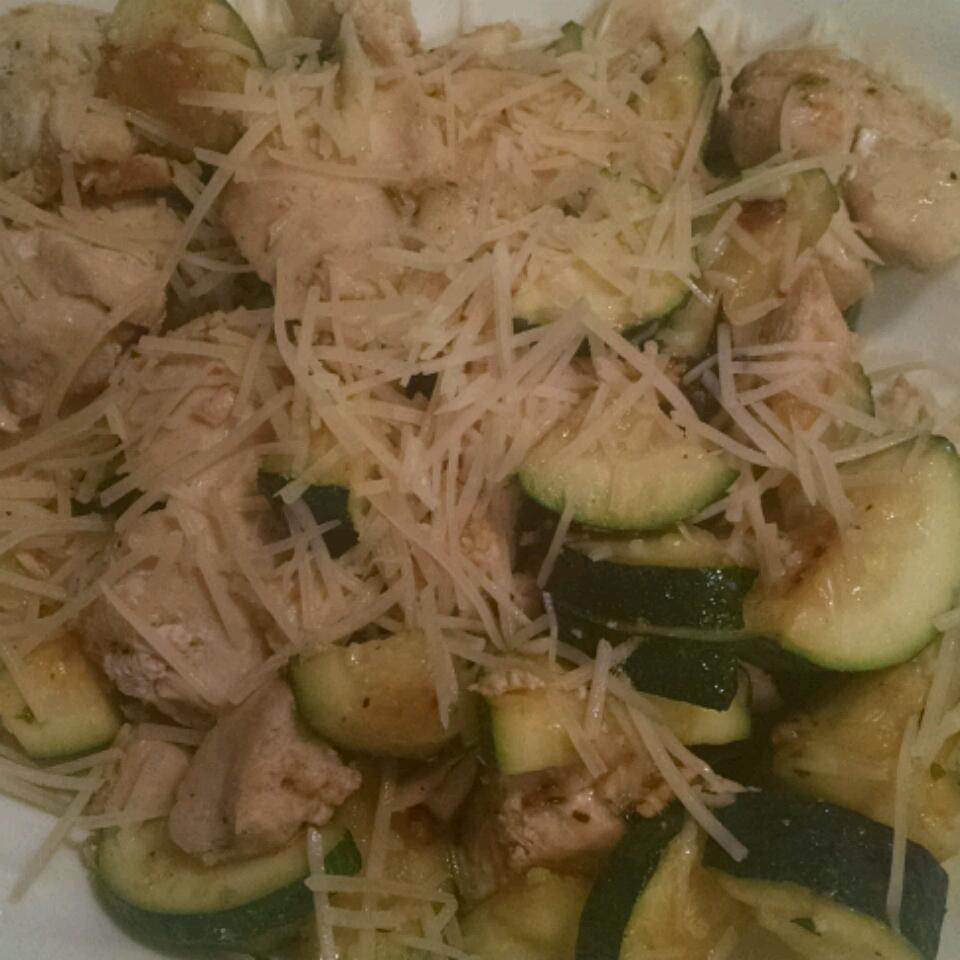Garlic Chicken and Zucchini missi