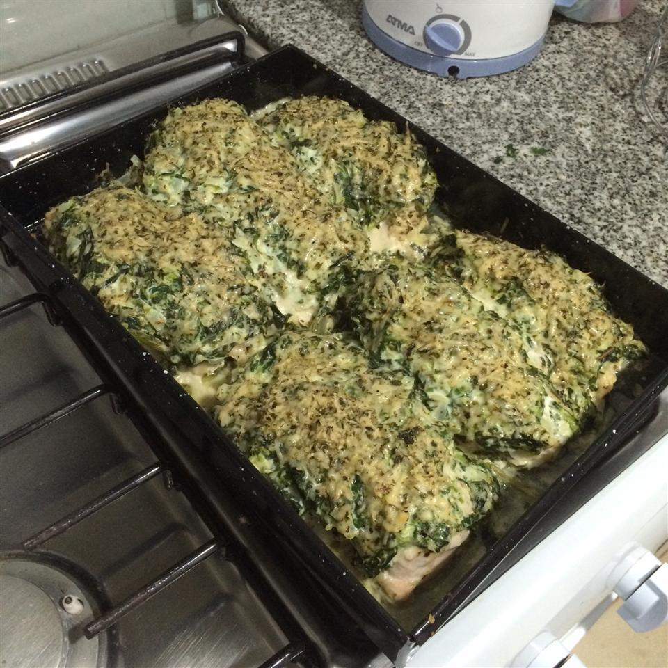 Spinach Chicken Parmesan lillianrp