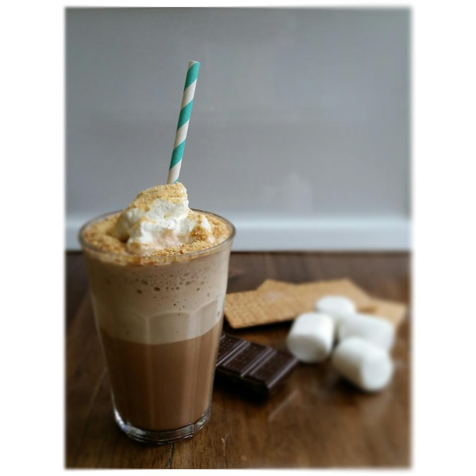 Campfire S'Mores Frappuccino® Snacking in the Kitchen