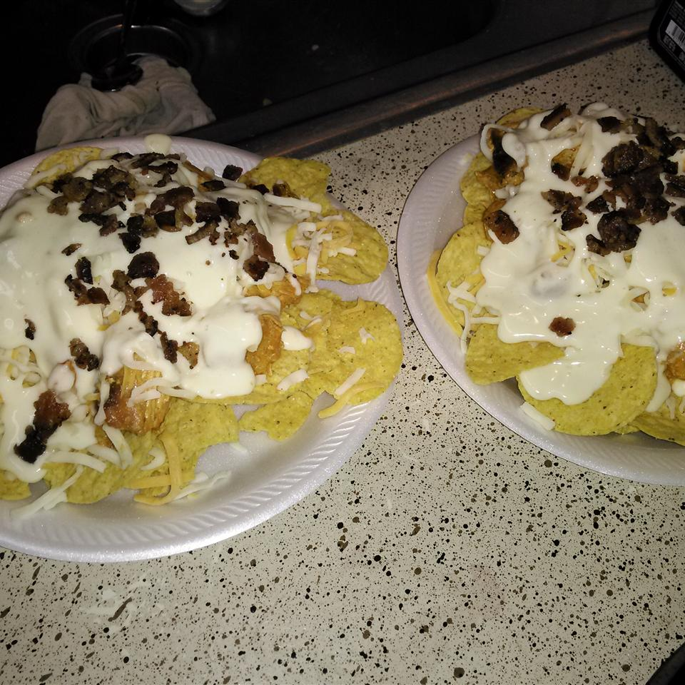 Kickin' Buffalo Chicken Nachos Jenaye Thomas