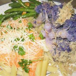 Baked Whole Cauliflower Marijke M