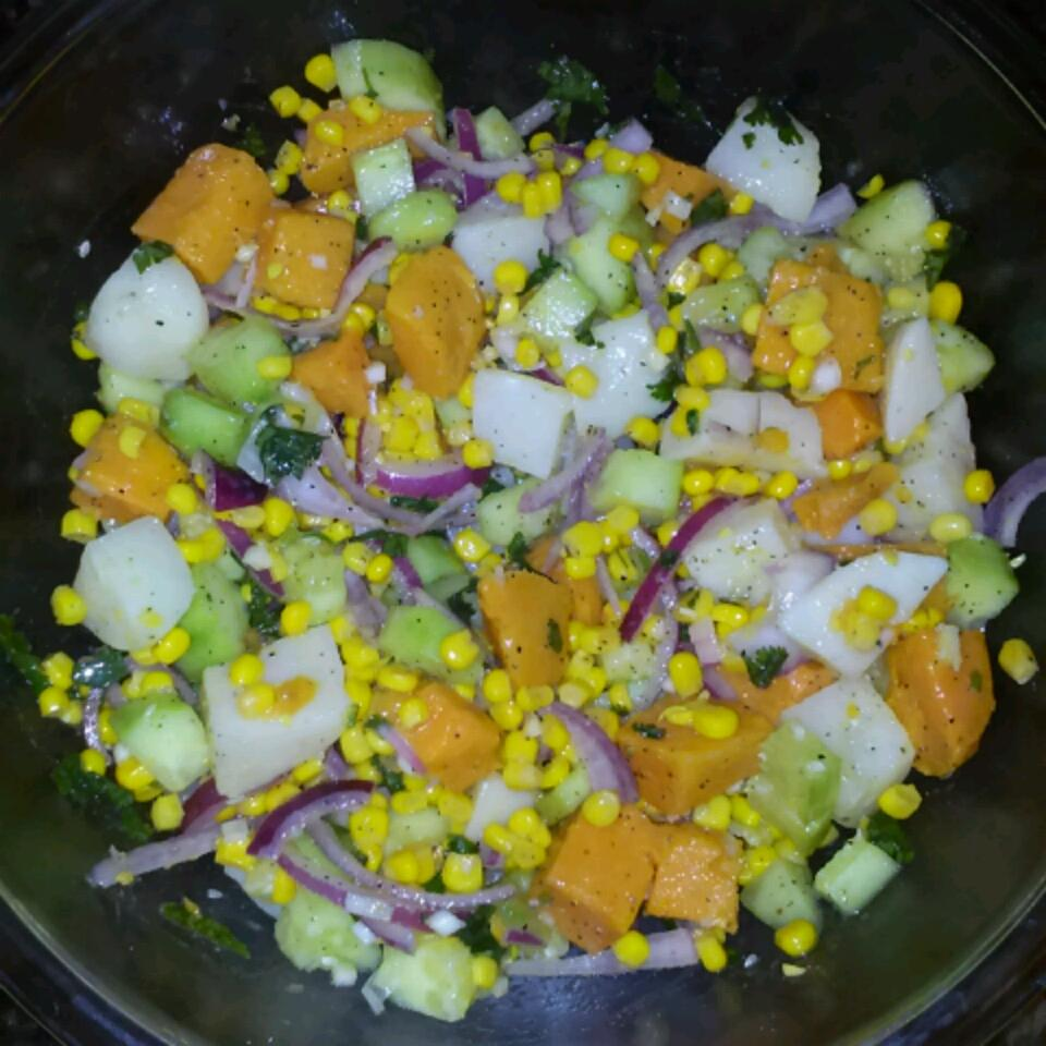 Caribbean Sweet Potato Salad Lenka