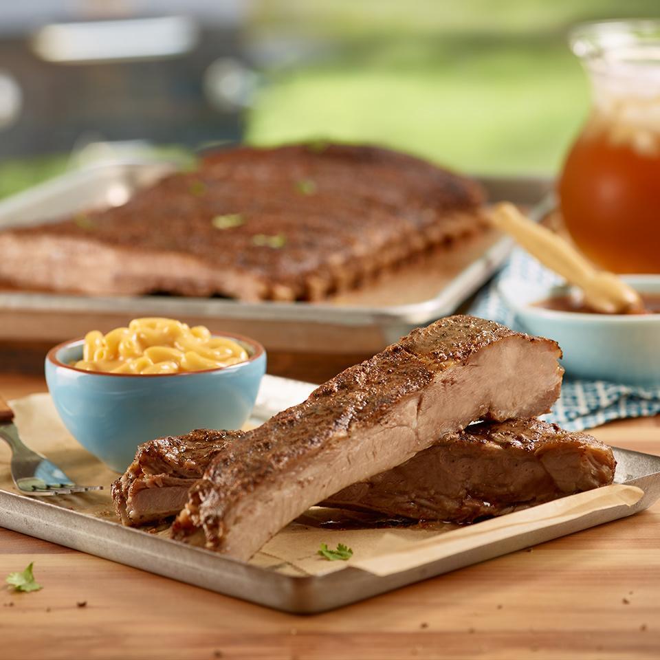Virginia Barbecued Spareribs