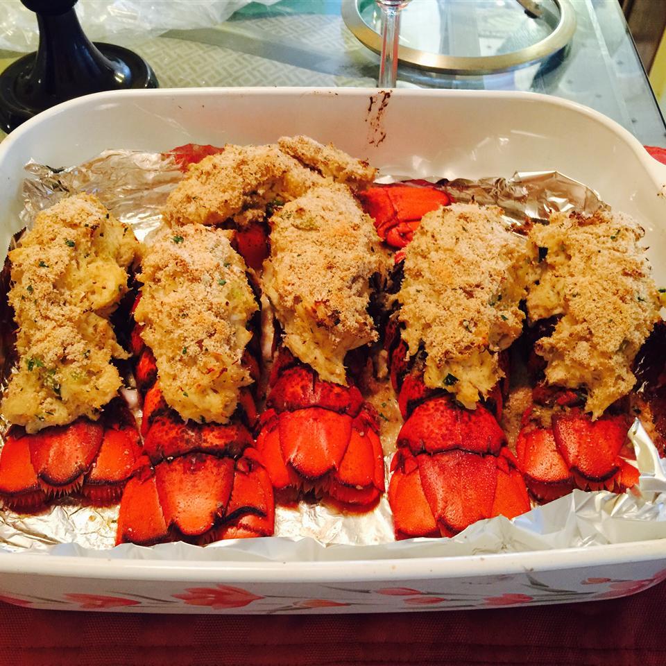 Crab Stuffed Lobster Rayna riri08