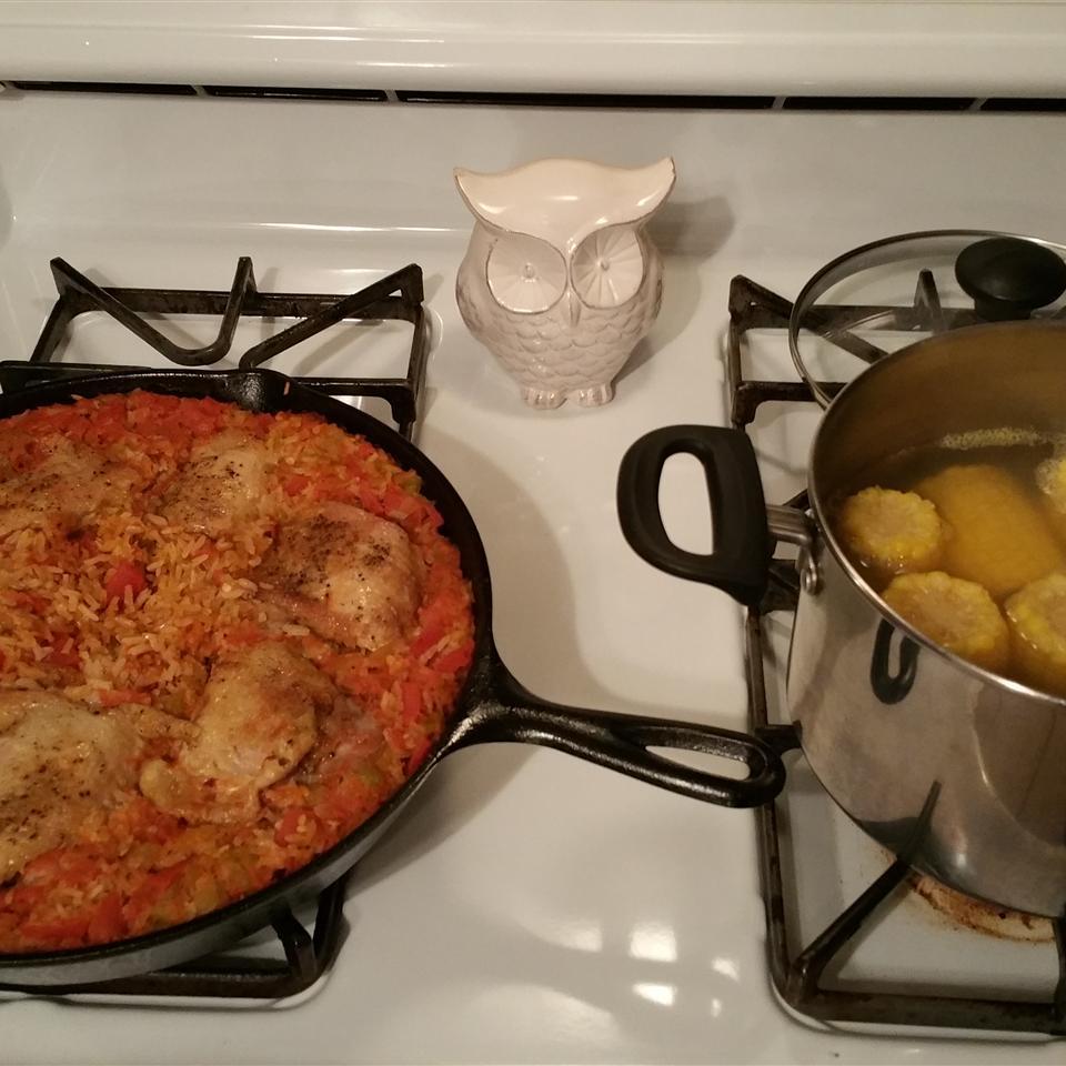 Chicken with Rice (Arroz con Pollo) Angelica Sirois