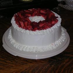Heavenly Angel Food Cake DIZ♥