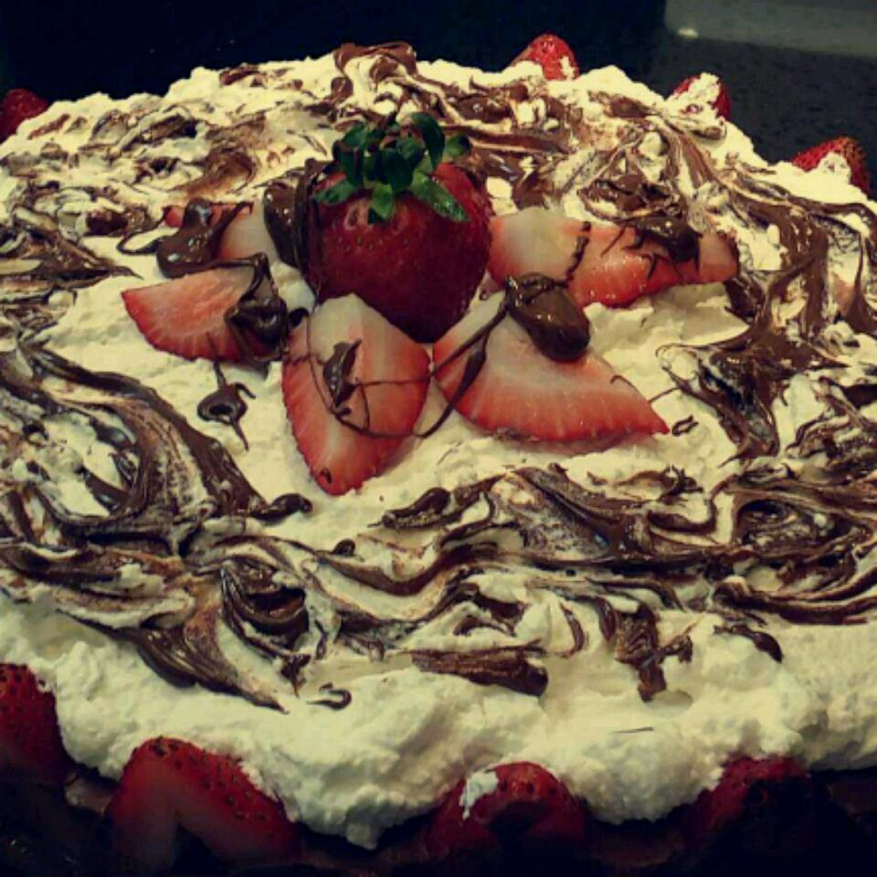 Strawberry Chocolate Mousse Cake Brittany Cuppcake