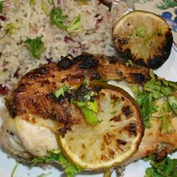 Tina's Best BBQ Lime Chicken Tina Andre' Fox
