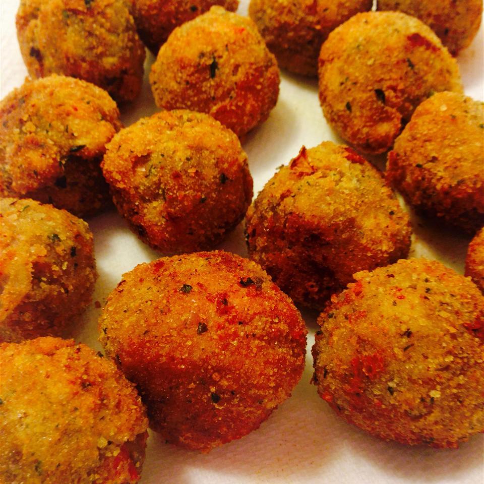 Tasty Fried Eggplant Balls MARBALET