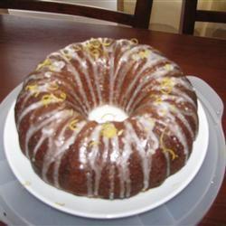 Luscious Lemon Cake Christine