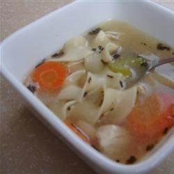 Quick and Easy Chicken Noodle Soup House of Aqua