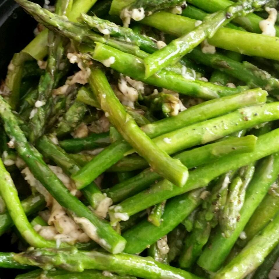 Asparagus Parmesan Anne Helzer