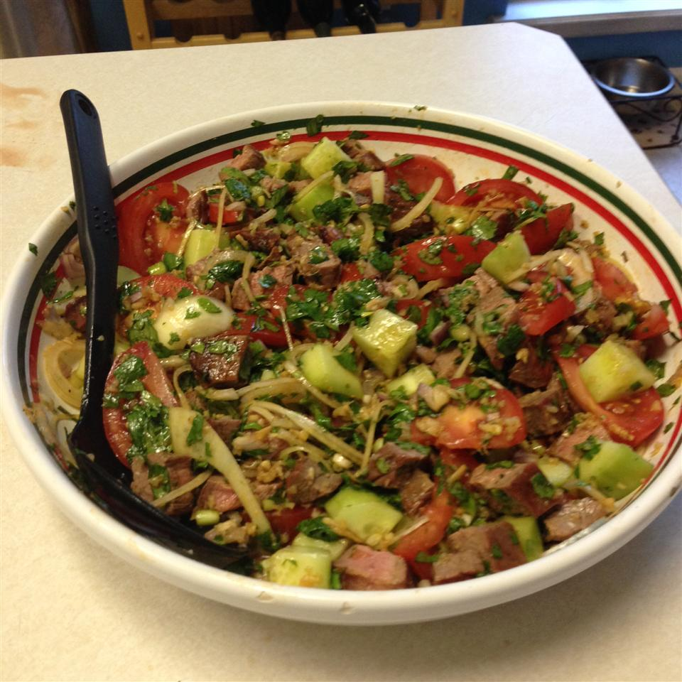 Thai Grilled Beef Salad Barb