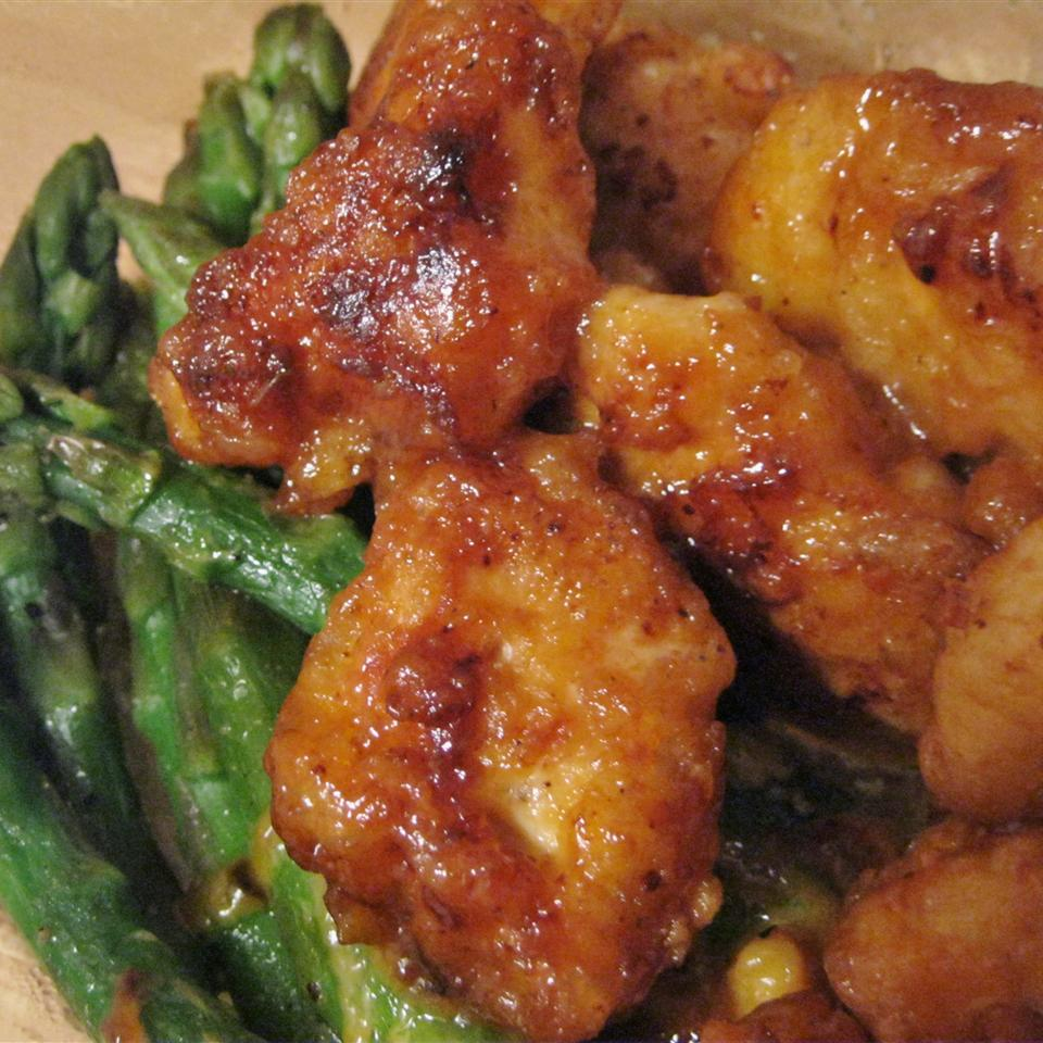 Crispy Chicken with Soy-Mayo Sauce tamzie