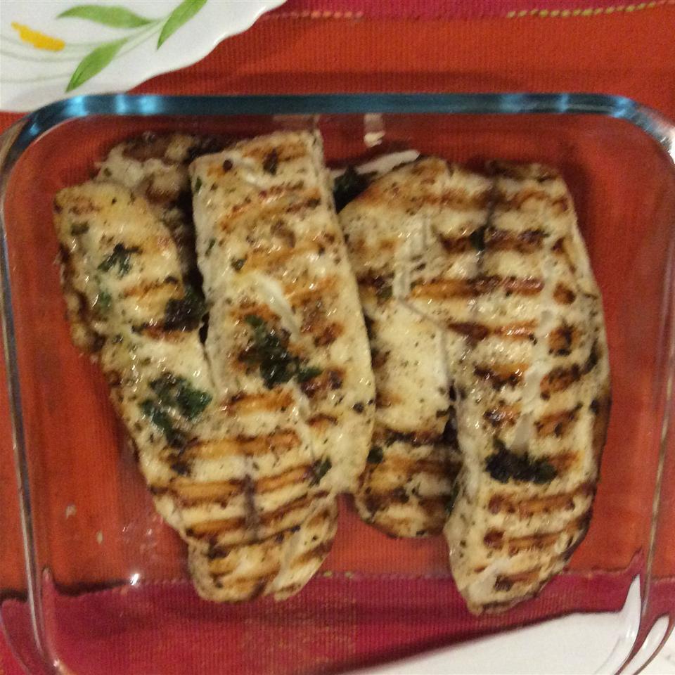 Grilled Fish Steaks Parve
