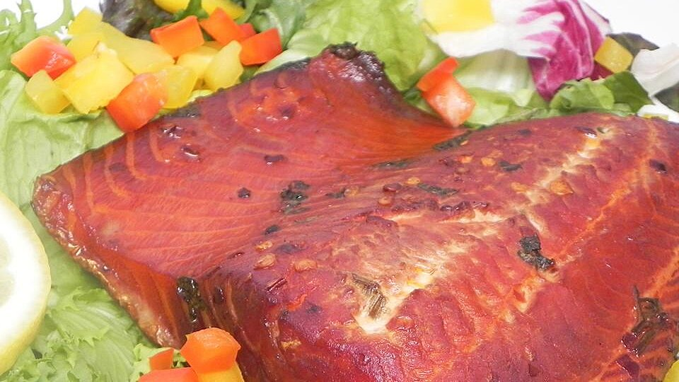 Fire and Ice Smoked Salmon