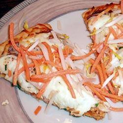 Thai Chicken Pizza Sally Stall