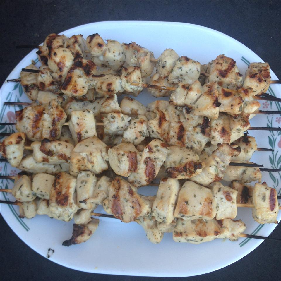 Rosemary Ranch Chicken Kabobs edmatthews