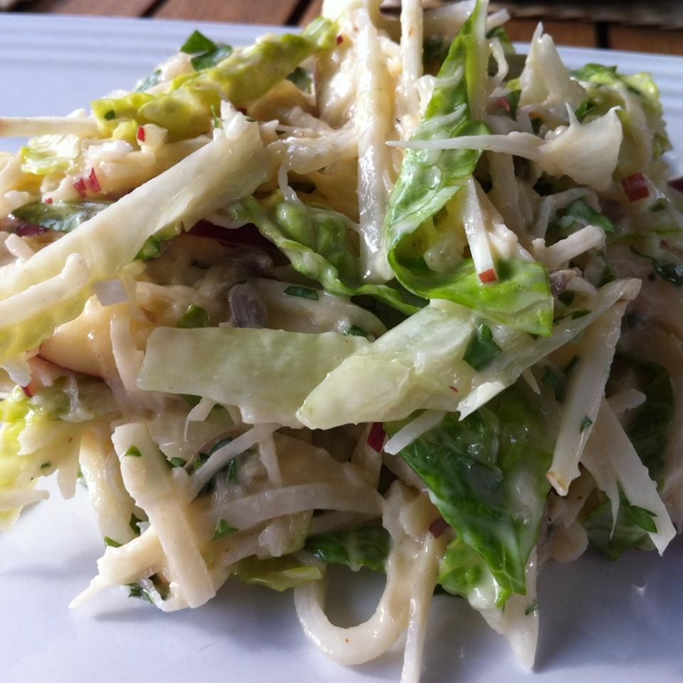 Apple Jicama Coleslaw Francine Lizotte Club Foody