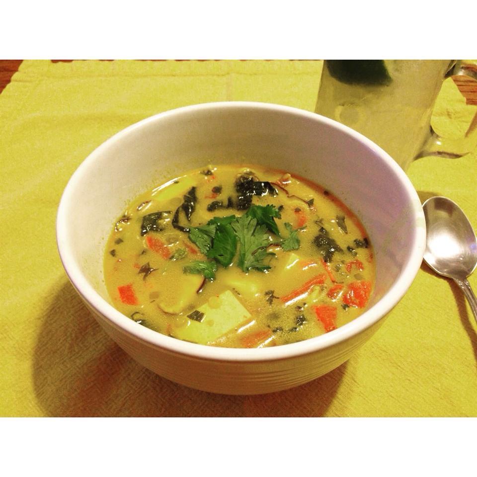 Thai Curry Soup Vegetarianfoodie