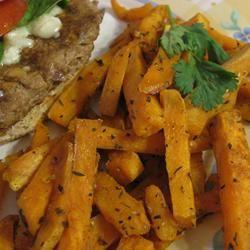 T's Sweet Potato Fries Dianne