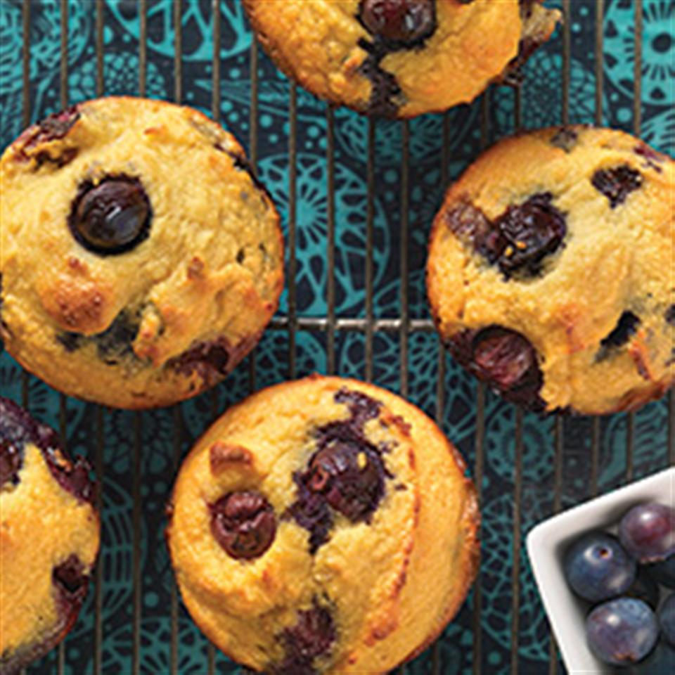 Gluten-Free Blueberry Muffins made with Coconut Flour King Arthur Flour