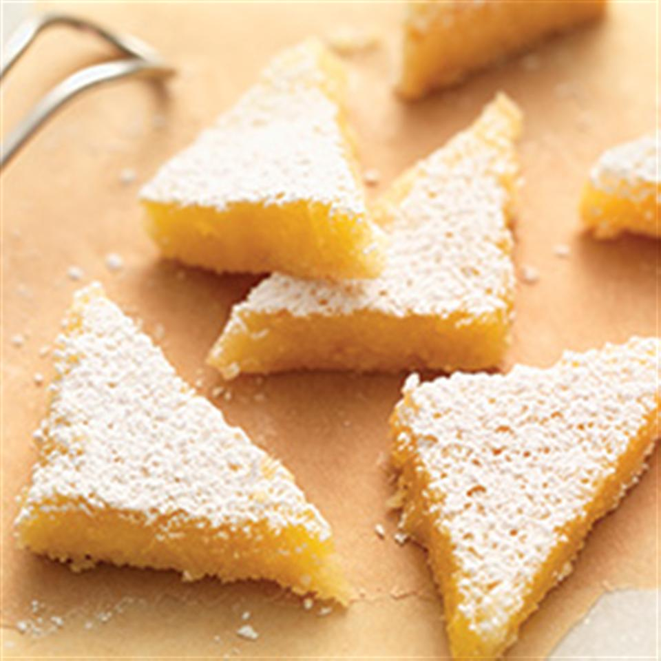 Gluten-Free Lemon Squares with an Almond Flour Crust Trusted Brands
