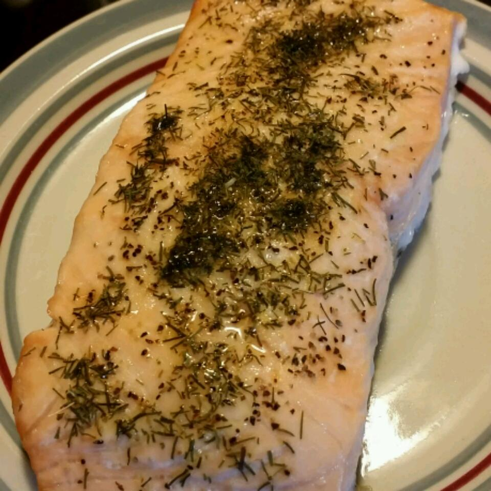 Salmon with Lemon and Dill Ann