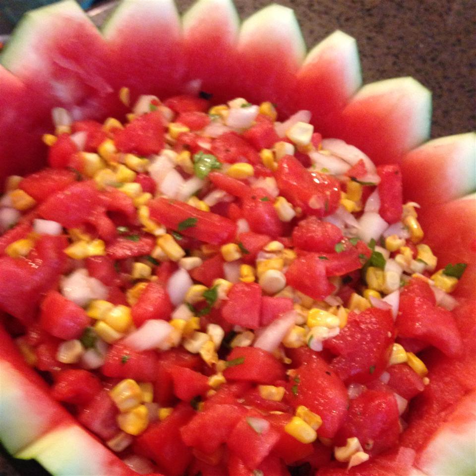 Watermelon and Corn Salsa jeff
