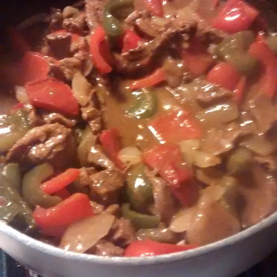 Pepper Steak and Rice Carla Miller