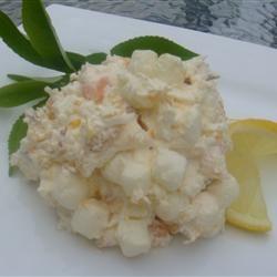 Coconut Ambrosia Salad AngieItaliano