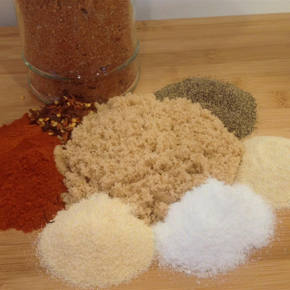 Dry Rub for Ribs or Chicken Diana Mc