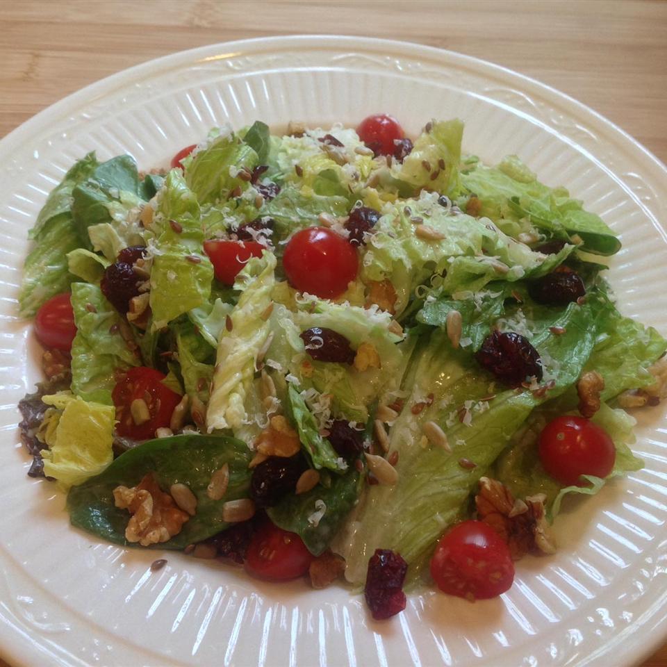 Ranchy Fruit and Nut Salad Jason Melo Hall