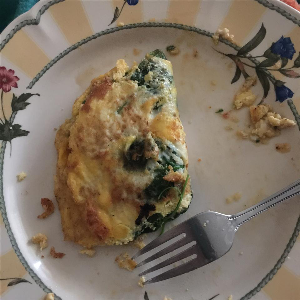 Baby Spinach Omelet joey sledge