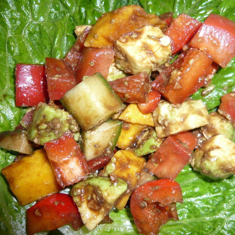 Greek Mango Salad Jan Mowbray