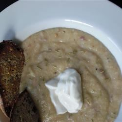 Simple Cauliflower Soup lwortman