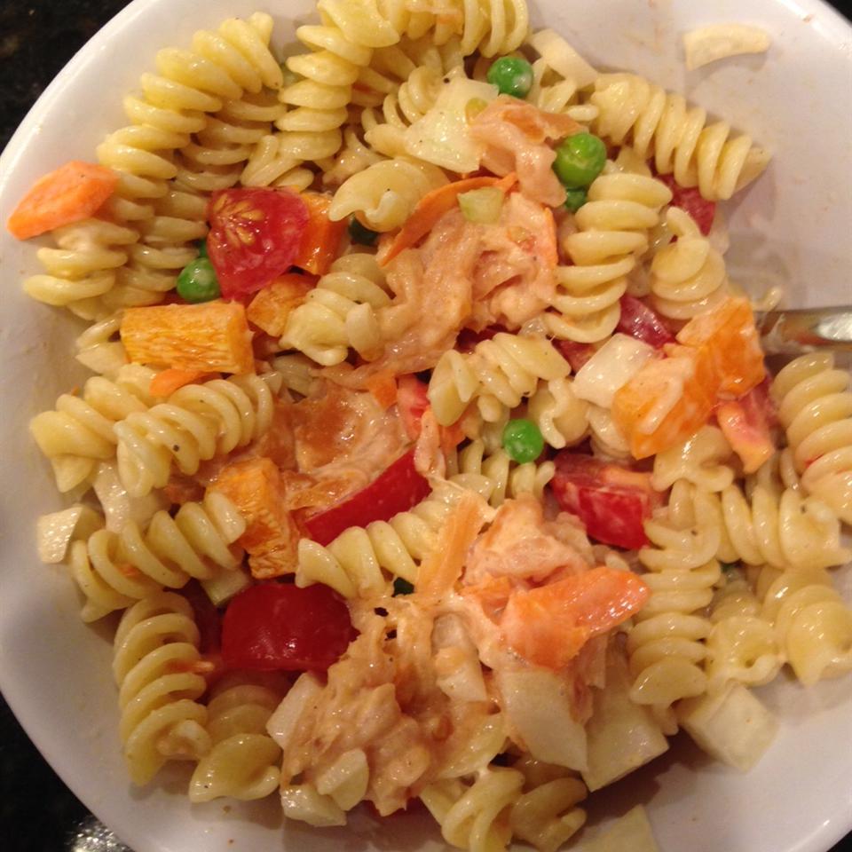 Smoked Salmon Pasta Salad Jennifer Martin