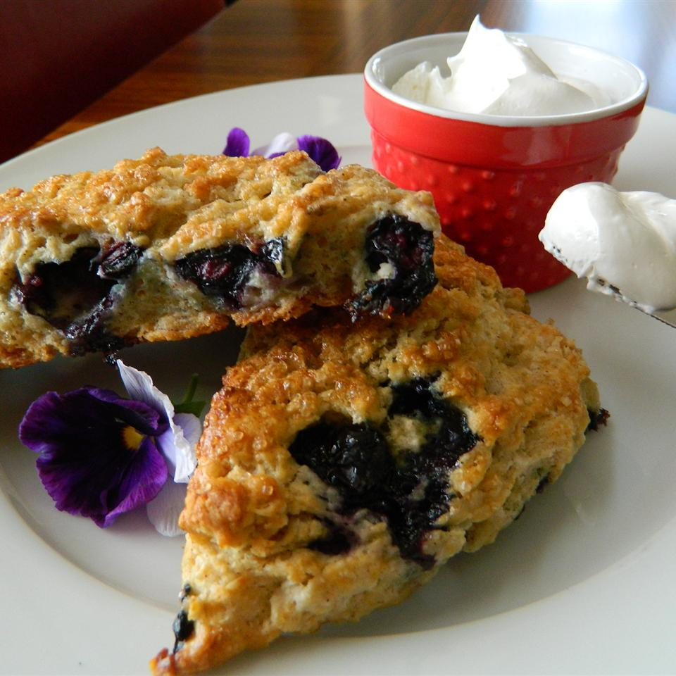 Whole-Grain Blueberry Scones
