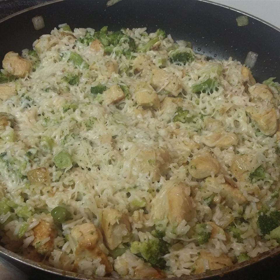 Lemon-Parmesan Chicken and Rice Bowl bluessigns