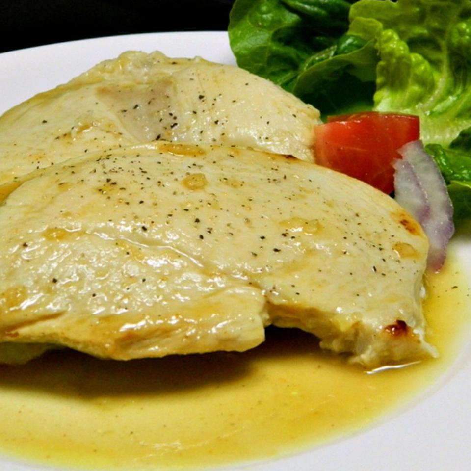 Lemon Garlic Chicken Breasts
