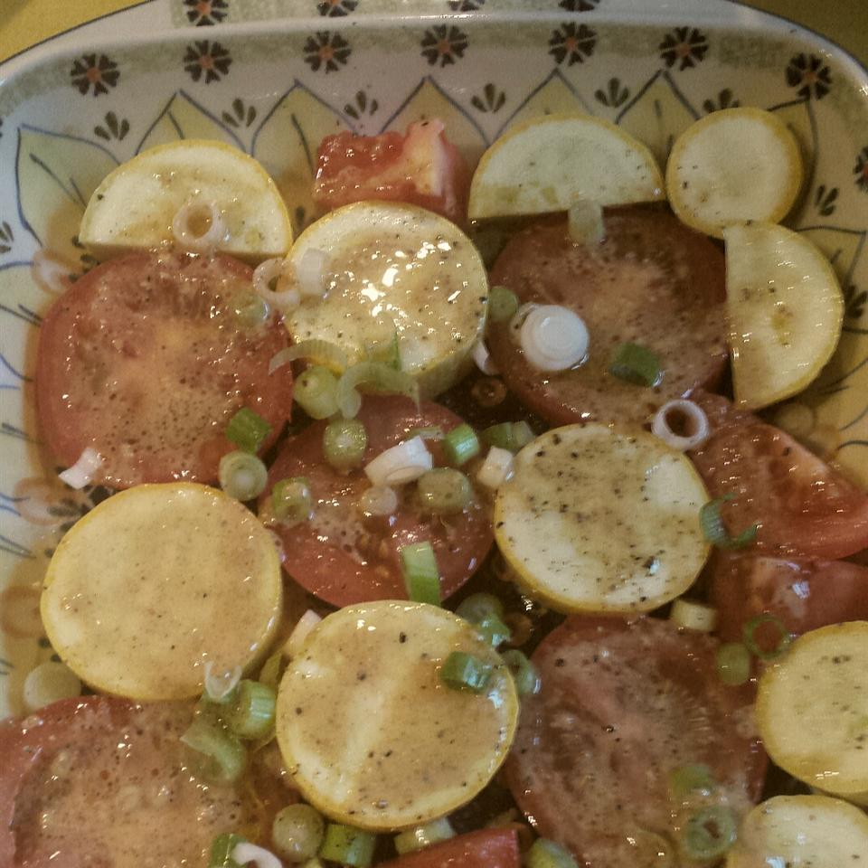 Crookneck Squash and Tomatoes Kristen Joy