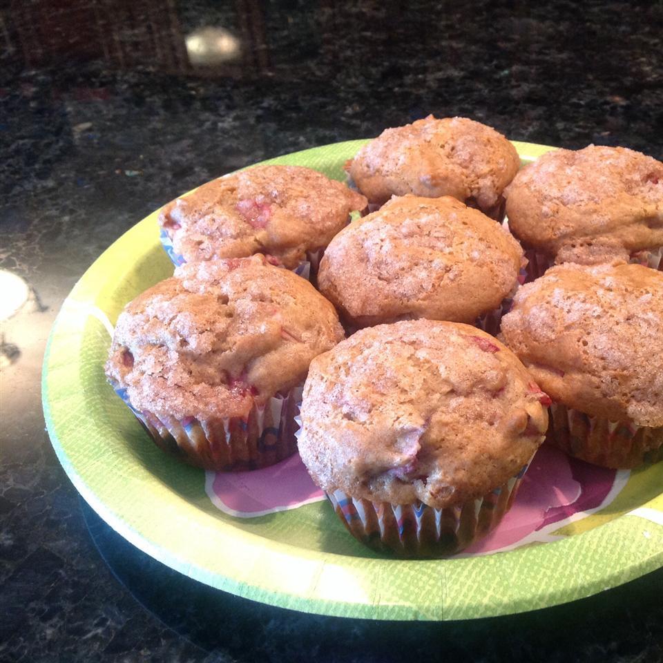 Aunt Norma's Rhubarb Muffins Valerie Lengert