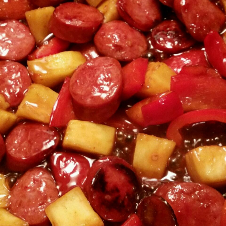 Hawaiian Pineapple Sweet & Sour Smoked Sausage