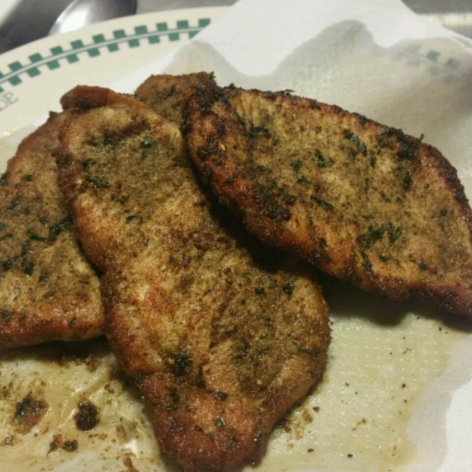 Herbed Pork Chops with Homemade Rub Shelby Leroy McCoy